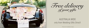Wedding Gifts & Gift Registries Sydney Wedding Gifts Direct