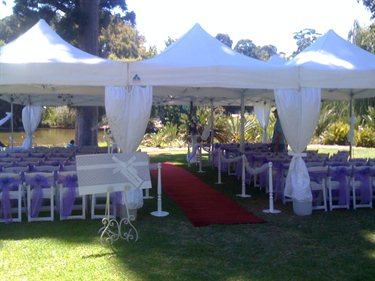Adelaide Weddings & Events wedding marquee wedding rental