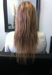 Hair and Makeup Hobart Evolve Hair Extensions