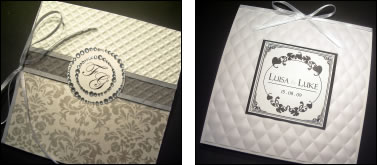 Melbourne Visual Illusions wedding cards wedding Stationary