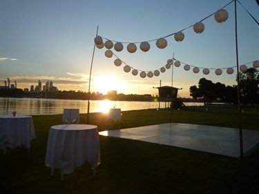 Perth Burswood on Swan wedding receptions