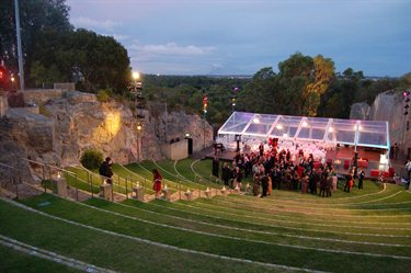 The Quarry Amphitheatre convention centres wedding receptions