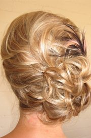 Glowing Acclaim Hair & Makeup Artistry hair extensions wedding hairstyles